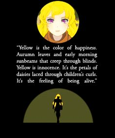 yang the defination of yellow by Crescentphysco