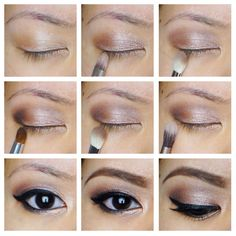 Rose smokey eyes