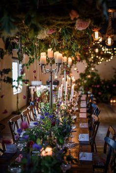 Let's start off this week with beautiful photographs of 'Some Enchanted Evening', a recent event organised by florist Jay Archer. Candelabra Flowers, New Covent Garden Market, Some Enchanted Evening, Prom Decor, British Flowers, Low Tables, Summer Events, Event Organization, Table Arrangements