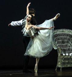 "Olga Smirnova and Artem Ovcharenko in ""Lady of the Camellias"" (Bolshoi Ballet)"
