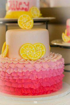 Sprinklebelle Cakes Pink Lemonade Cake