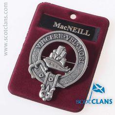 MacNeil Clan Crest C