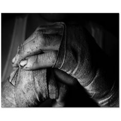 Blood, Sweat, Tears & Grit Boxing Canvas Home Decor