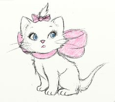 http://katiesketches.tumblr.com/post/23431298064/sketch-of-marie-from-the-aristocats