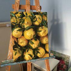 lemon painting realistic and beautiful! - Creepy Cute Cartoon Artist lemon painting realistic and be Painting Inspiration, Art Inspo, Girl Inspiration, Creative Inspiration, Lemon Painting, Oil Painting Easy, Arte Sketchbook, Wow Art, Art Hoe