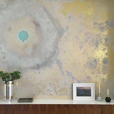#wallpaperdaydreams #invertedspaces #installation @bcxsy @by.sjoy @lovelybride @calicowallpaper #mural #murals #statementwallpaper…