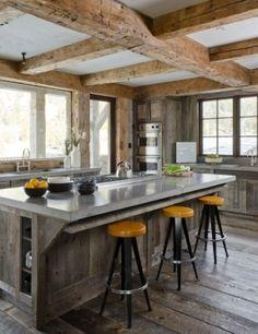 Organic Modern, counter tops