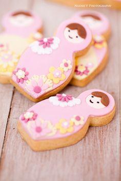 Bubble and Sweet: Babushka Cookies for Polkadot Prints printable range
