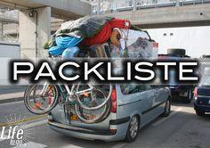Backpacking Packliste zu unserer Weltreise