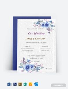 Instantly Download Wedding Invitation Card Template, Sample & Example in Microsoft Word (DOC), Adobe Photoshop (PSD), Adobe InDesign (INDD & IDML), Apple Pages, Microsoft Publisher, Adobe Illustrator (AI) Format. Available in 4x6 Inches, 5x7 Inches + Bleed. Quickly Customize. Easily Editable & Printable.