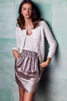 Corey Lynn Calter Parhelia Paperbag Skirt #AnthroFave
