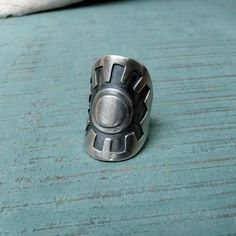 Adjustable Sterling Silver Visionary Eye Ring by MUSIBATTY on Etsy