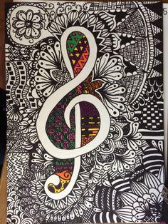 Desenho feito em papel com canetas permanentes. Drawing do in paper with sharpie pen.