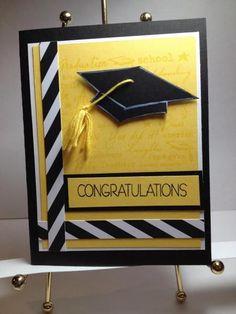 graduation - Homemade Cards, Rubber Stamp Art, & Paper Crafts - Splitcoaststampers.com