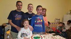 Cugino Lino con la sorella Brigida e famiglia