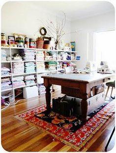 Ideias para transformar uma divisão num quarto de costura, ou mesmo para arrumação do nosso cantinho.                           Bons Trabal...