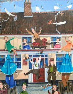 The Red Lion - Stephanie Lambourne - Southwold Gallery
