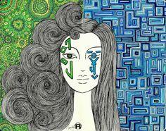 Ingress portrait Ingress Enlightened, Just A Game, Niantic Labs, Fan Art, Invitations, Portrait, Games, Random, Fun