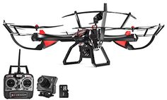 Dynamic Aerial Systems X4 Venom 4CH 6-Axis Gyro 2.4ghz RC Remote Control Quadcopter Drone with GoPro Mount, 2MP HD Camera, Altitude Hold and Headless Mode ** Click on the image for additional details.