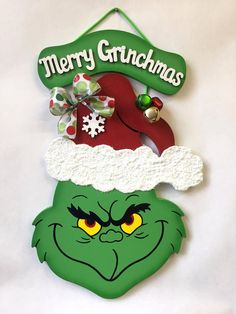 Pin by Мариана Петкова on Коледа | Christmas door, Grinch