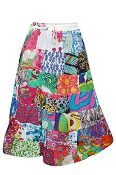 Patchwork Skirts, Sexy Skirt, Summer Skirts, Vintage Prints, Gifts For Her, Trunks, Sexy Women, Amazon, Printed