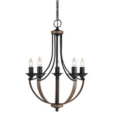 Found it at AllModern - Corbeille 5 Light Candle Chandelier