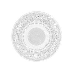 Dessertteller aus Glas CLASSICA, D 18 cm   - Im 6er-Set angeboten