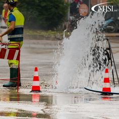 Water main breaks are serious business, learn more about them on our blog! #WaterSafety #WaterExperts http://www.gomjsi.com/general/water-main-break/