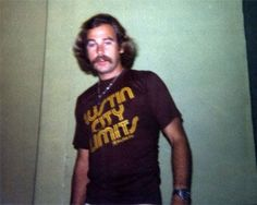 Jimmy Buffett backstage, Austin, TX, 1976
