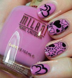 Let them have Polish! VALENTINE #nail #nails #nailart