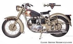 BSA Motorcycles was once the largest motorcycle producer in the world.  Model-by-model breakdown.  Pictures, Specs, History & more...