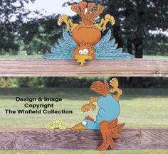 Bird Crash Woodcraft Pattern