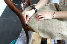 Upholstery Basics: Constructing Coil Seats - I sooo meed to do this to my couch thanks to  my dog!