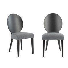 Safavieh Set of 2 Roxanne Side Chairs, Grey Black Dining Chairs, Dining Chair Set, Table And Chairs, Side Chairs, Find Furniture, Dining Room Furniture, Room Chairs, Modern Furniture, Cheap Dining Room Sets