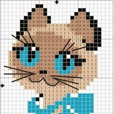 Tiernos gráficos de gatitos...