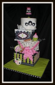 My Sassy Cake By nanny1015 on CakeCentral.com