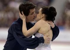Tessa Virtue and Scott Moir perform their dance free program at the Canadian figure skating championships in Ottawa, Ontario, on Saturday, J...
