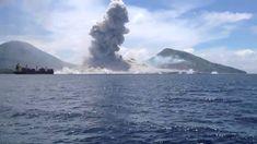 Momento exacto de erupcion de volcan en Papua Nueva Guinea https://www.youtube.com/watch?v=JhbvxlWFVvE