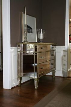 I want a mirrored buffet