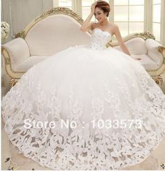 c7c5315c9 ... Buy Directly from China Suppliers  Bride Wedding Dresses 2015 long  train bandage Elegant Sweet Princess Wrapped Chest Ball Gown vestido de  noiva