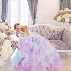 【楽天市場】ウエディングドレス 二次会 カラードレス ロングドレス ベアトップ ハートネック プリンセスライン aライン ブライダル イベント 花嫁 結婚式 痩せっぽい チュール レース スパンコール:YBワールド
