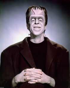 Fred Gwynn as Herman Munster. Munsters Tv Show, The Munsters, La Familia Munster, Los Addams, The Nun's Story, The Poseidon Adventure, Herman Munster, Black Sheep Of The Family, Yvonne De Carlo