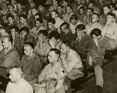 Reacción de los soldados alemanes a las filmaciones de los campos de concentración, 1945