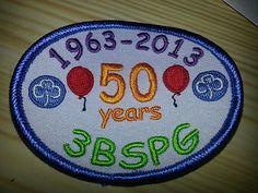 Girl Guiding UK 3rd Blackheath Guides 50th Birthday Badge | eBay