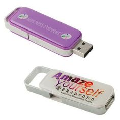 Carico Retractable USB Flash Drive - 256mb