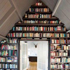 I want a big wall of books!