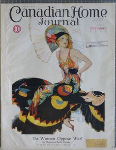 Maclean's magazine 1930s | Canadian Home Journal Cover November 1930