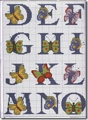 Mariposas, Esquemas gratis punto de cruz de mariposas | Tu Punto de Cruz