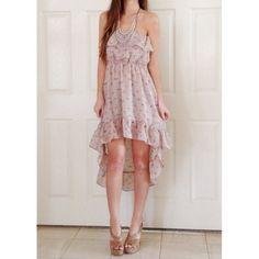"Spotted while shopping on Poshmark: ""NWOT! Floral hi-low dress""! #poshmark #fashion #shopping #style #Dresses & Skirts"