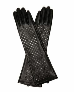 Simply awesome!     NM + Target Studded Leather Gloves by Brian Atwood at Neiman Marcus.